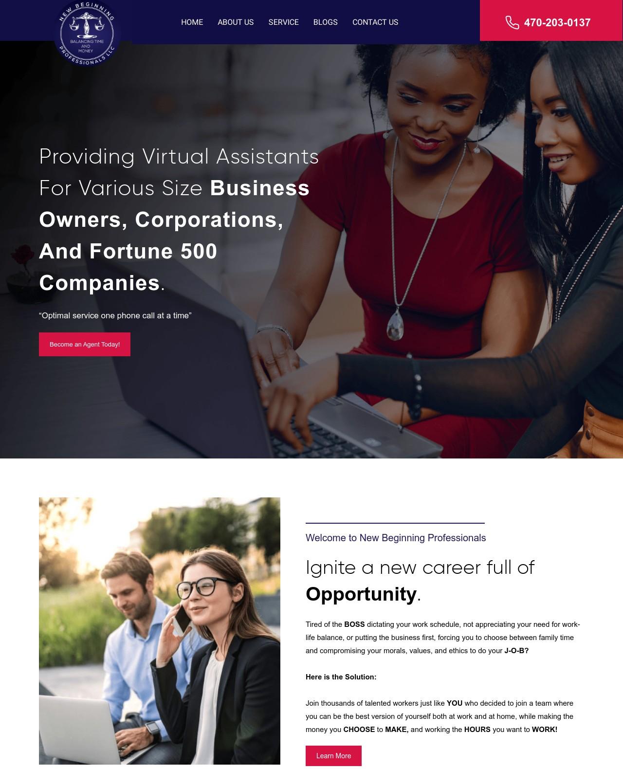 New Beginning Professionals LLC
